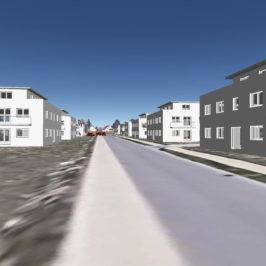 Visualisierung Bisamstraße Nord