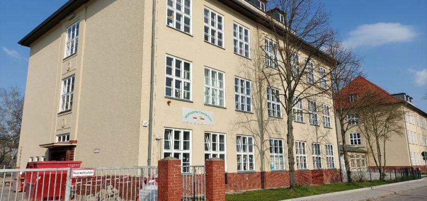 Mahlsdorfer Grundschule Außenansicht