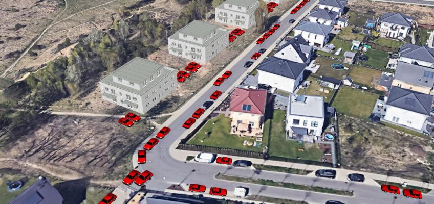 Simulation Parkplatzproblem Bisamstraße