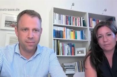 Videokonferenz mit Mario Czaja und Katharina Günther-Wünsch