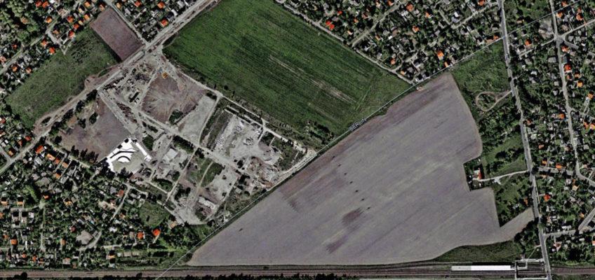 Wohngebiet und Birkenstein Oktober 2000